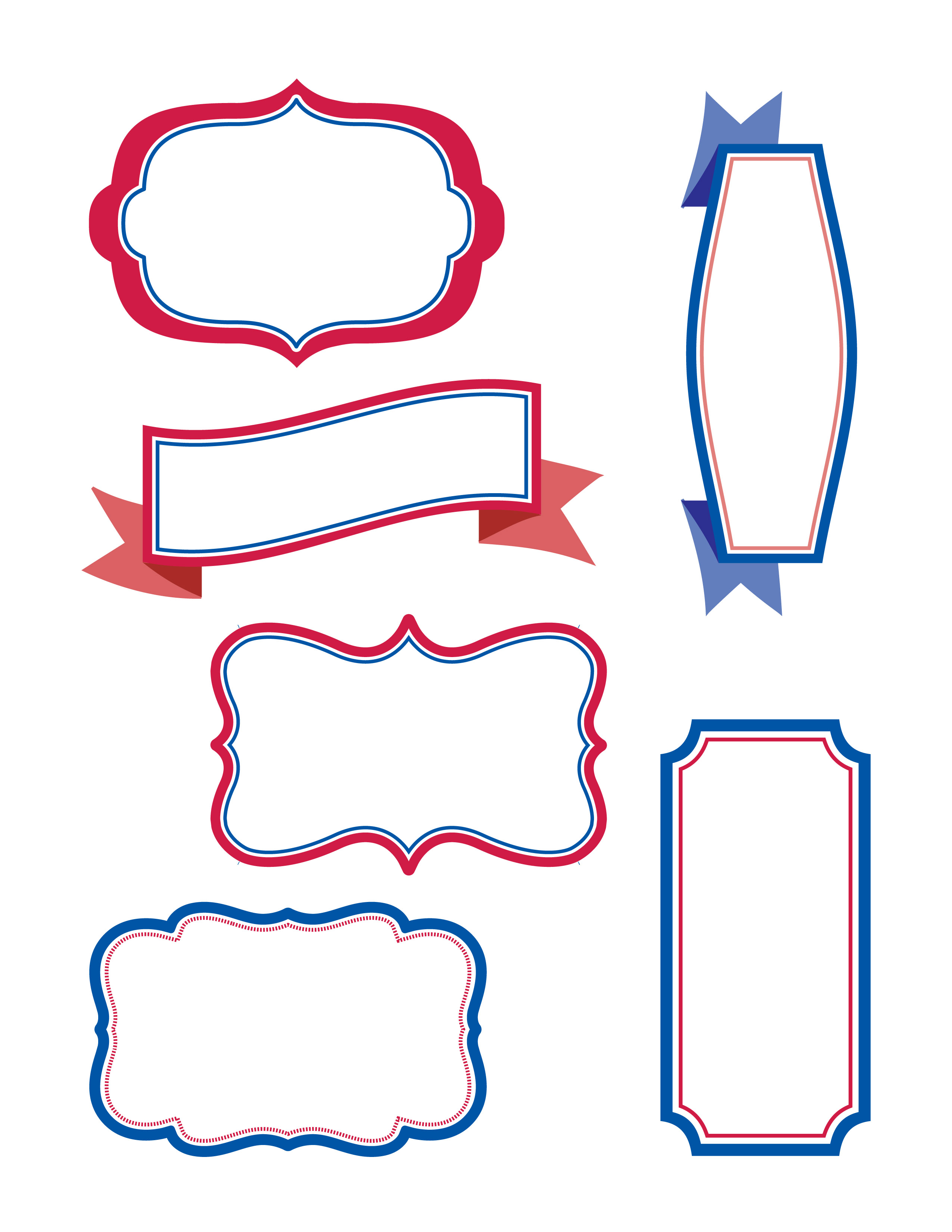 Cupcake Template Design : Cupcake Toppers Template images